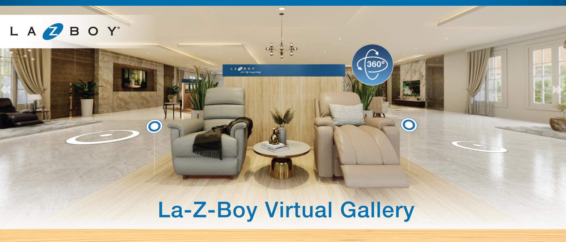 La-Z-Boy Virtual Gallery