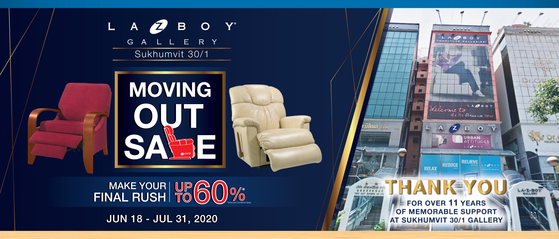 Moving Out Sale - Up to 60%