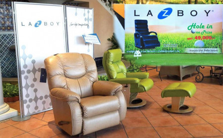 La-Z-Boy sponsored the CMA 25 Charity Golf Tournament
