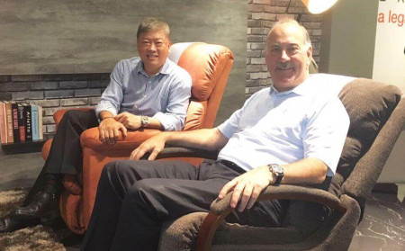 CEO & CMO visiting La-Z-Boy Bangkok Thailand 2016