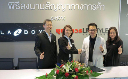 La-Z-Boy has signed cooperation with Boonthavorn Lifestyle Furniture