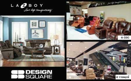 La-Z-Boy is available now at SB Design Square, CDC & Ratchapruk