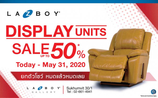 Display Units SALE up to 50%*