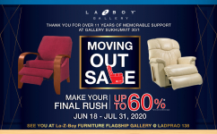 MOVING OUT SALE - Discount up to 60%