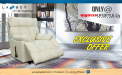 Exclusive privilege to BOONTHAVORN LIFESTYLE FURNITURE customers