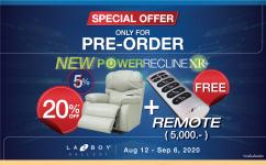 Pre-Order - PowerReclineXR+ with Wireless Remote